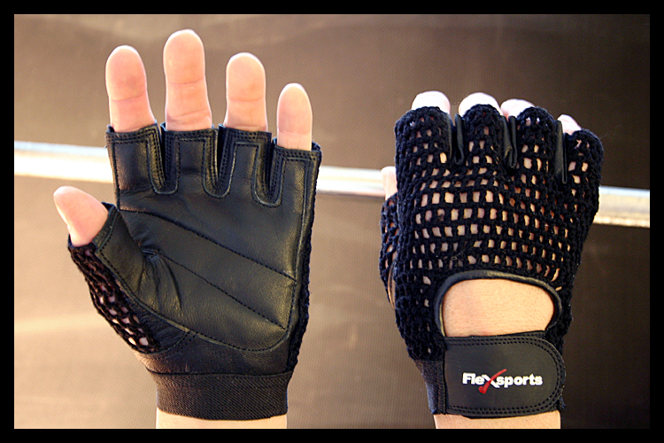 Black Pro-Mesh Gloves