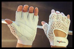White Pro-Mesh Gloves