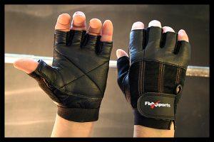 Black Pro-Spandex Gloves